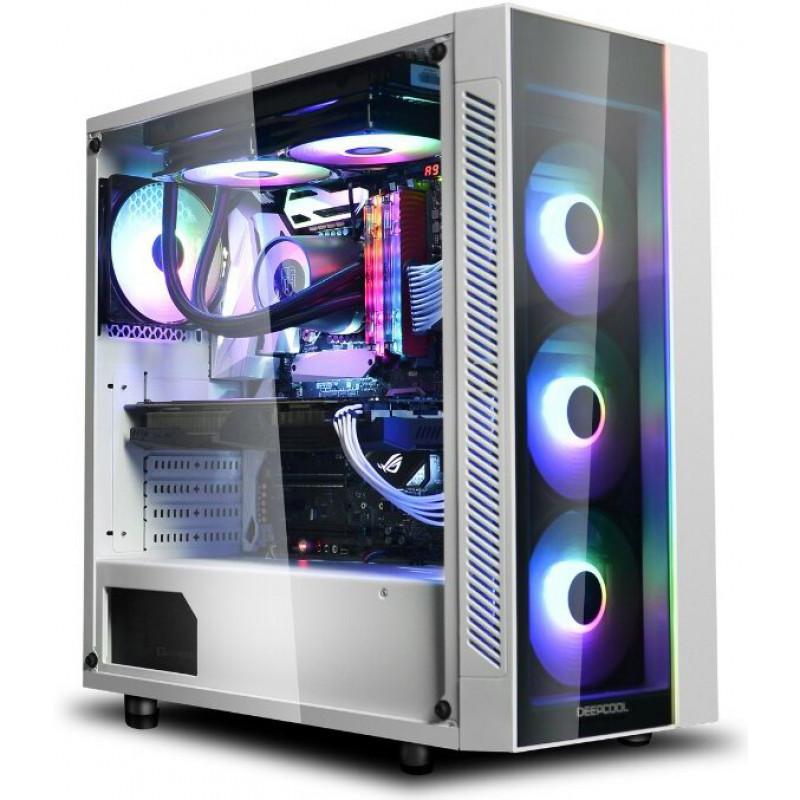 Deepcool Matrexx 55 RGB 3F White <span>GLASS</span>