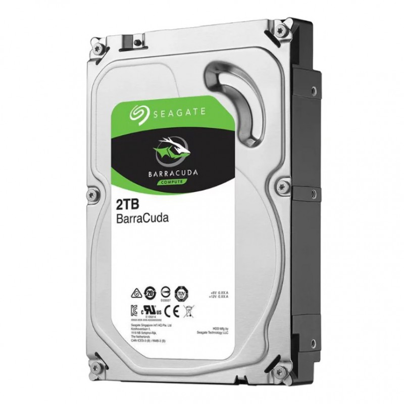 Seagate Barracuda 7200rpm 6 TB (2 TB x 3)