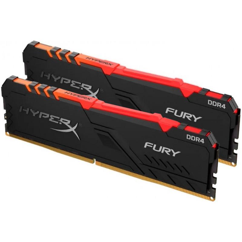HyperX Fury 2666 16Gb (8Gb x 2) <span>RGB</span>