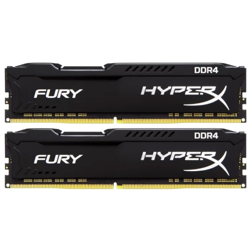 HyperX DDR4 2400 Black 16Gb (8Gb x 2)