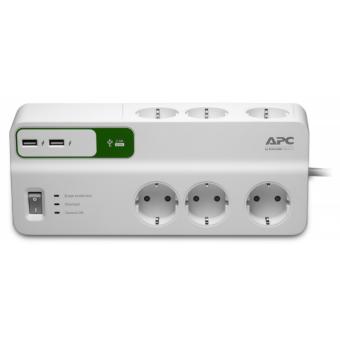 APC Essential SurgeArrest PM6U-RS